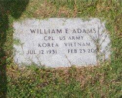 William E Adams