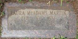 Laura <i>McAdams</i> Martin