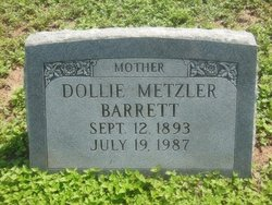 Dollie <i>Metzler</i> Barrett