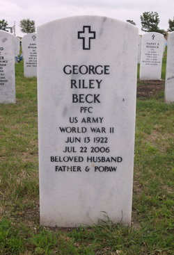 Rev George Riley Beck