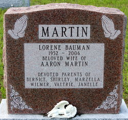 Lorene <i>Bauman</i> Martin