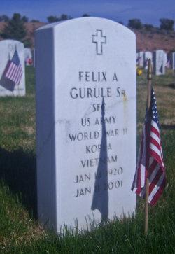 Sgt Felix A Gurule, SR