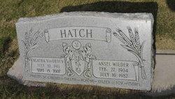 Ansel Wilder Hatch