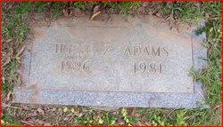 Irene Zachary Adams