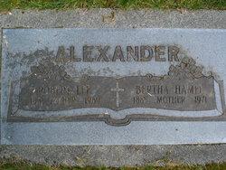 Bertha <i>Hamel</i> Alexander