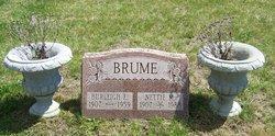 Nettie M. <i>Foster</i> Brume