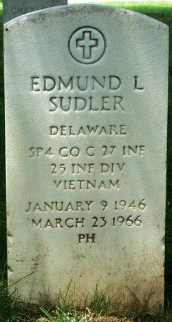 Spec Edmund Lawrence Sudler