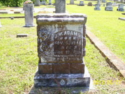 John Washington Wash Adams