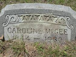 Caroline Louisa <i>Wilson</i> McGee