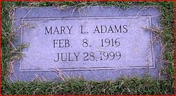 Mary Louise Adams