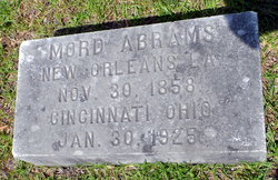 Mord Abrams