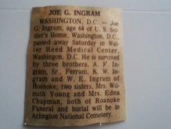 Joseph Goode Joe Ingram