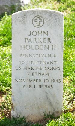 Lieut John Parker Holden, II