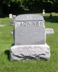 Mary L <i>Brooks</i> Adkins