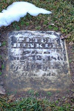 Peter Hinkle, III