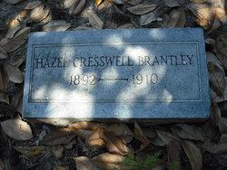Hazel <i>Cresswell</i> Brantley