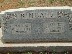 Mary Alice <i>Sargent</i> Kincaid
