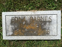 Annie Edna <i>Barnes</i> Ramsey