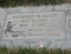 Raymond Wayne Ray Allen