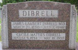 Dr James Lambert Dibrell