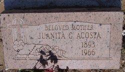 Juanita G Acosta
