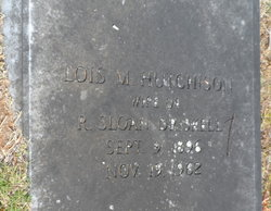 Lois M <i>Hutchinson</i> Driskell