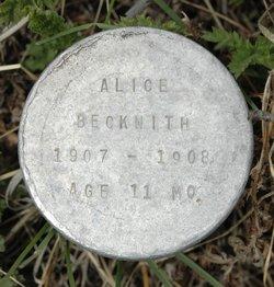 Alice Phulura Beckwith