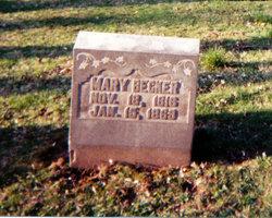 Mary <i>Knipp</i> Becker