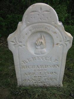Rebecca P <i>Ellis</i> Richardson