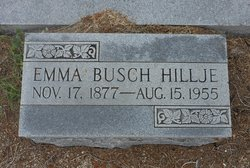 Emma <i>Busch</i> Hillje