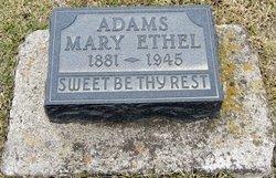 Mary Ethel <i>Skidmore</i> Adams