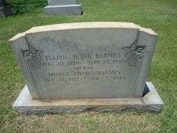Elijah Jesse Barnes