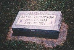 Henrietta Rebecca Retta <i>McKnabb</i> Thompson