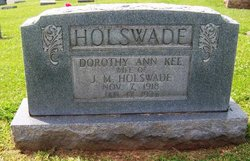 Dorthy Ann <i>Kee</i> Holswade