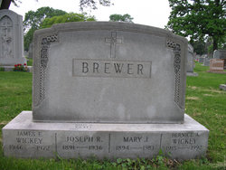 Mary Jane <i>Lodge</i> Brewer