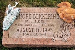 Hope Bekkering