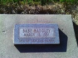 Baby Daughter Baddley