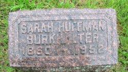 Sarah Osie <i>Huffman</i> Burkhalter