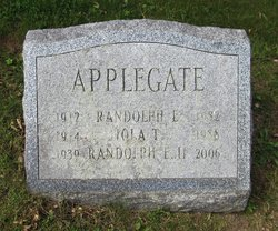 Randolph E Applegate, II