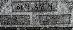 Leon E Benjamin