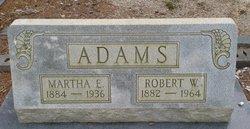 Martha E Adams