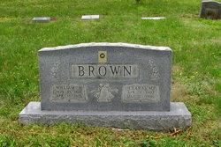Clara Lillian <i>Marshall</i> Brown