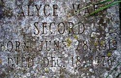 Alyce Mae Secord