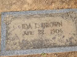 Ida Louise <i>Leak</i> Brown