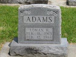 Loman Harold Adams