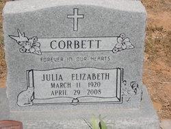 Julia Elizabeth <i>Morgenthaler</i> Corbett