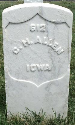 Pvt Charles H Allen