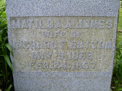 Matilda Abigail <i>Jones</i> Dutton