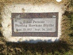 Ethel Margaret <i>Persons</i> Blythe