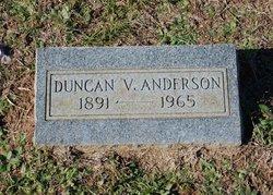Duncan V Anderson